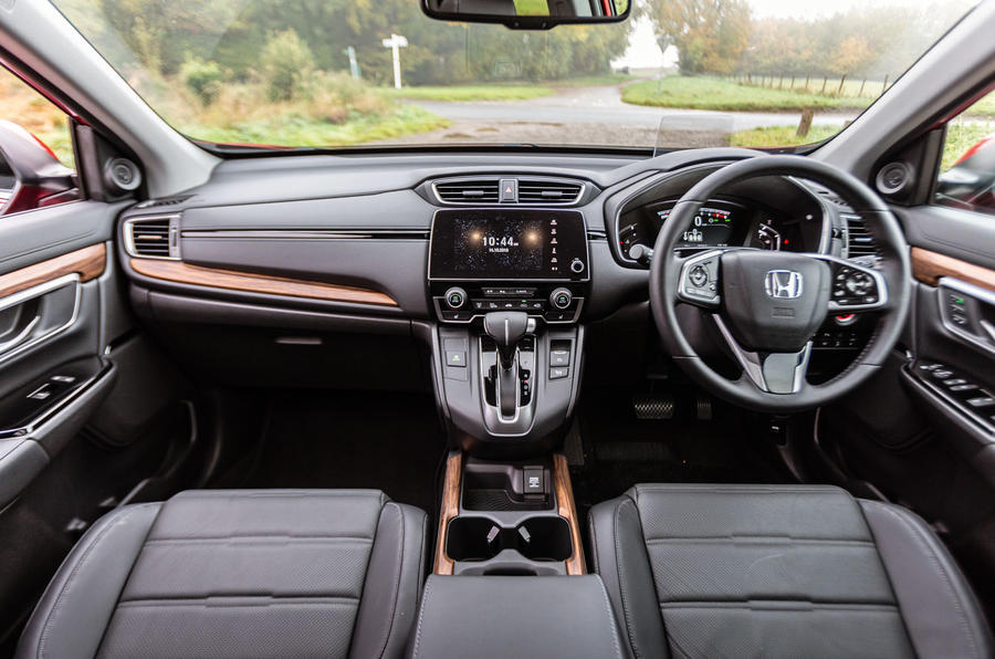Honda CR-V 2018 road test review - dashboard