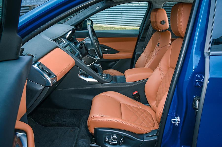 Jaguar E-Pace review cabin