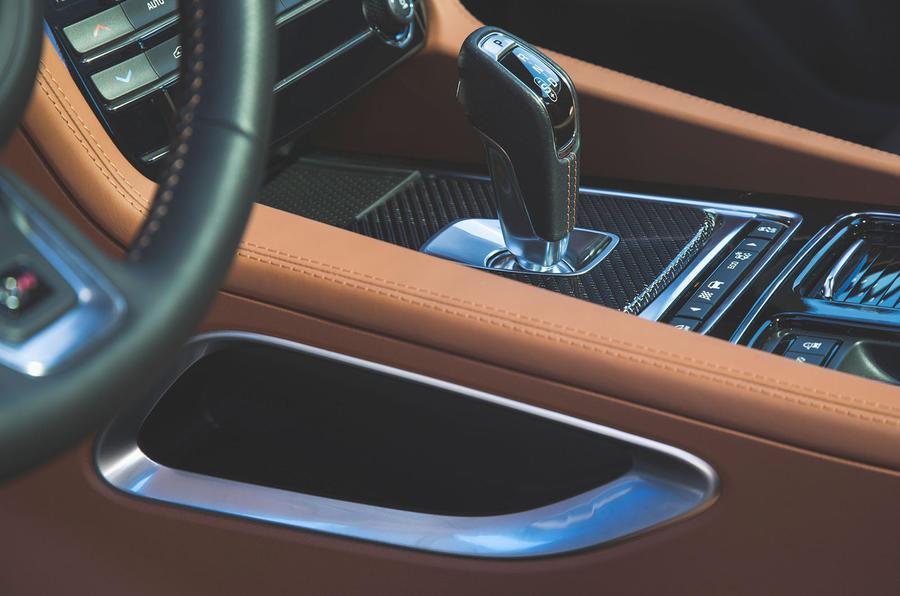 Jaguar F-Pace SVR 2019 first drive review - centre console