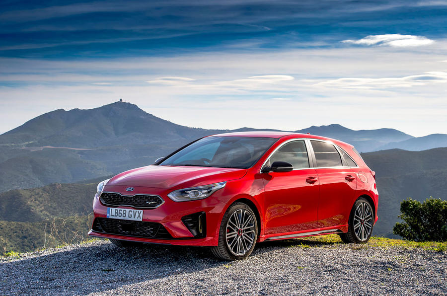 Kia Ceed GT 2019 road test review - static front