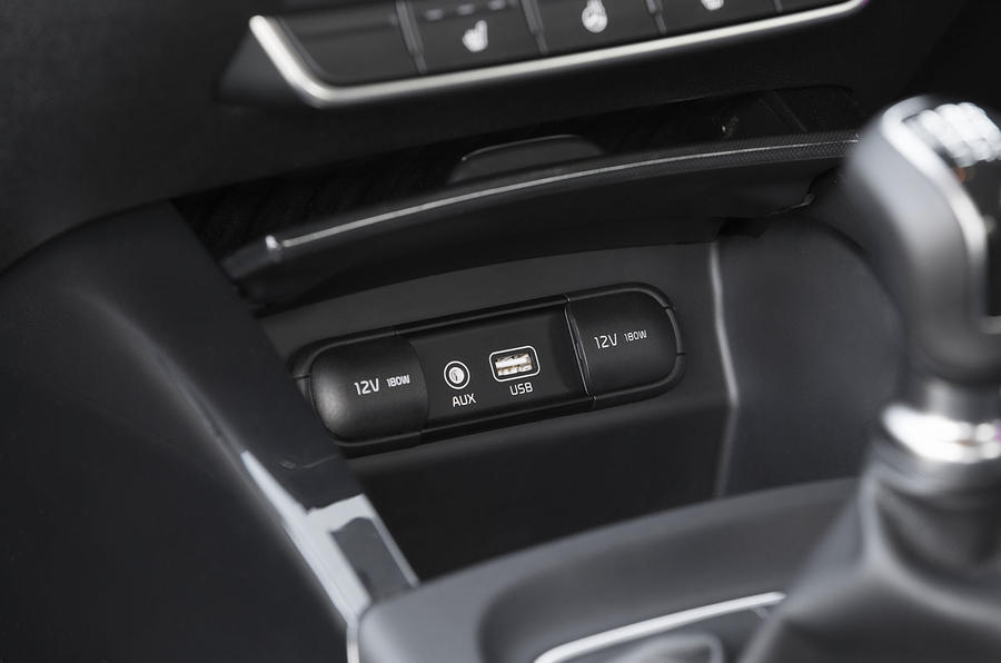 Kia Sorento 2018 road test review USB ports