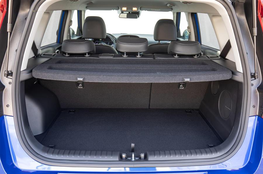 Kia Soul EV 2019 European first drive - boot