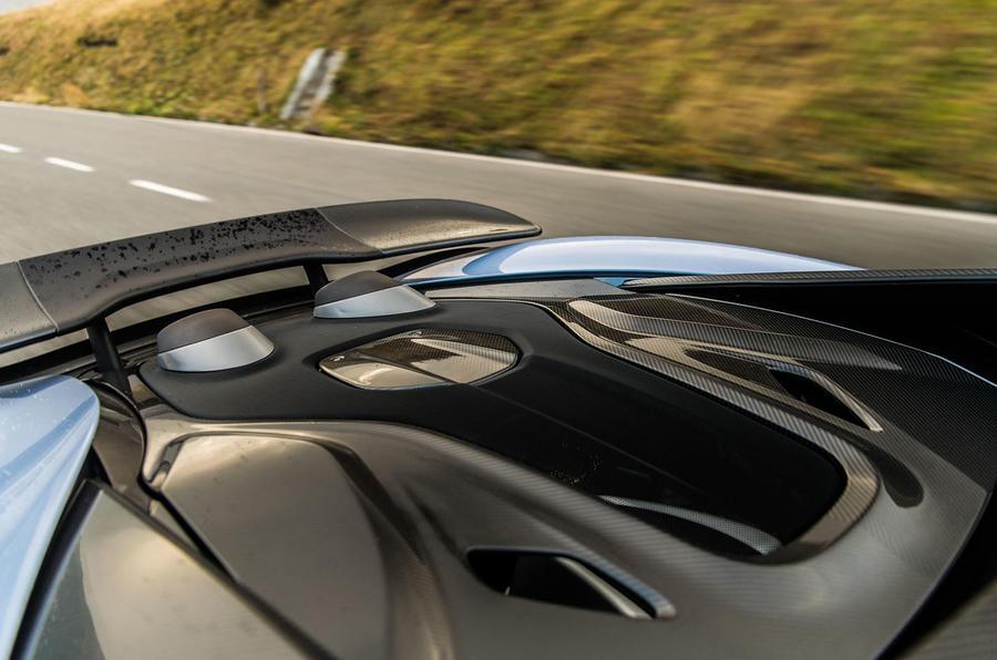 McLaren 600LT 2018 review - motion rear detail