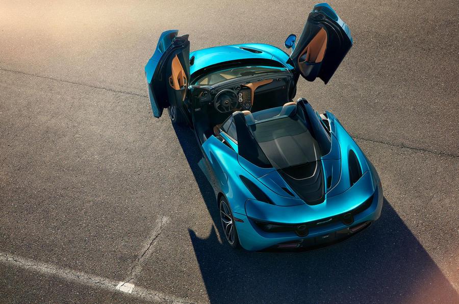 McLaren 720S Spider 2019 road test review - static doors