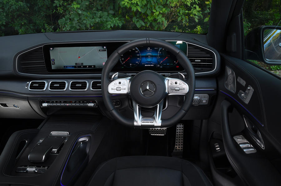 Mercedes-AMG GLE 53 2020 road test review - dashboard