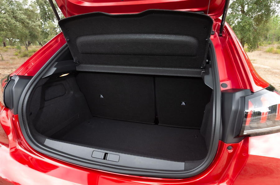 Peugeot 208 2020 road test review - boot