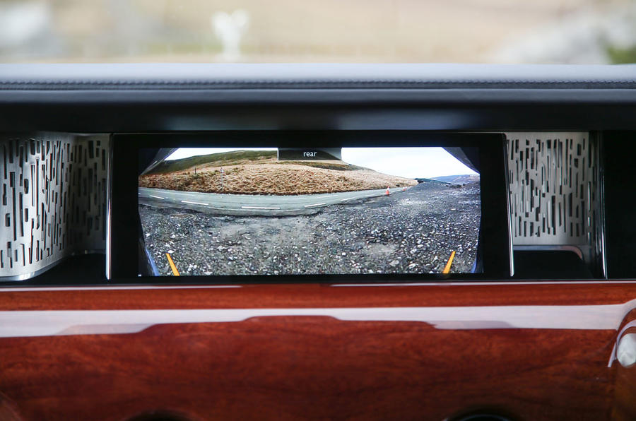 Rolls Royce Phantom 2018 review infotainment reversing camera