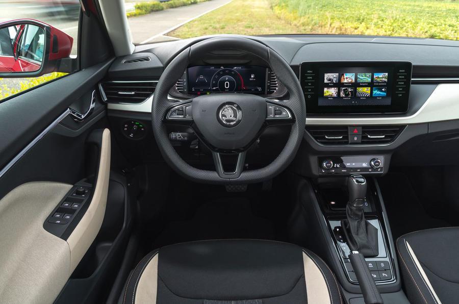 Skoda Kamiq 2019 road test review - dashboard
