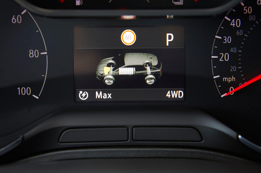 Vauxhall Grandland X Hybrid4 2020 road test review - instruments