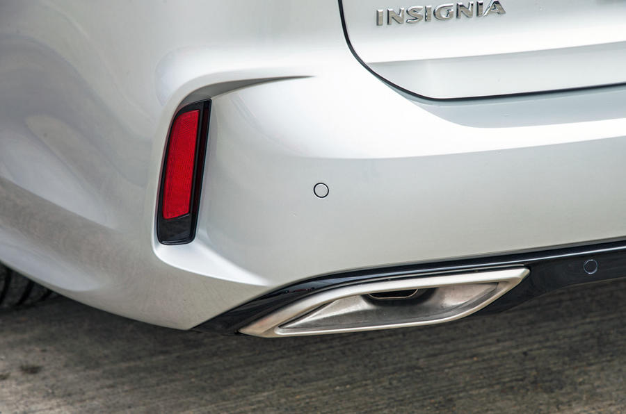 Vauxhall Insignia Sports Tourer GSI review exhaust
