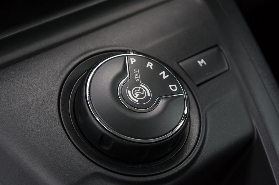 Vauxhall Vivaro Life 2019 road test review - gear selector