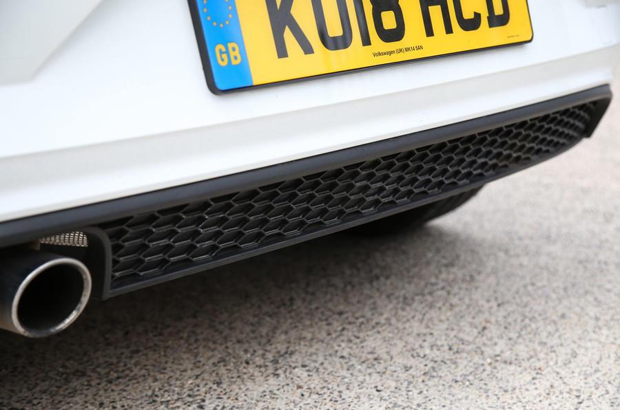 Volkswagen Polo GTI 2018 road test review rear bumper