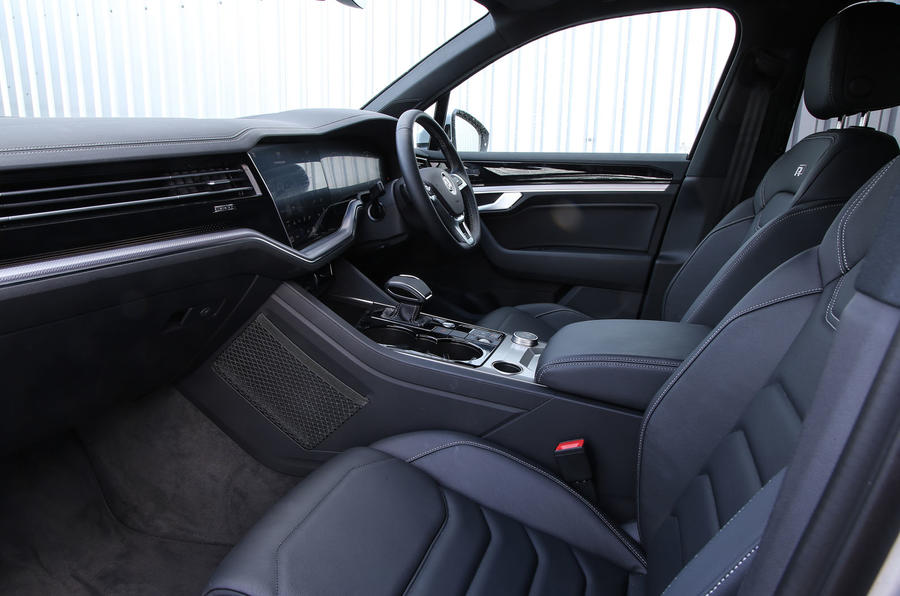 Volkswagen Touareg 2018 road test review cabin