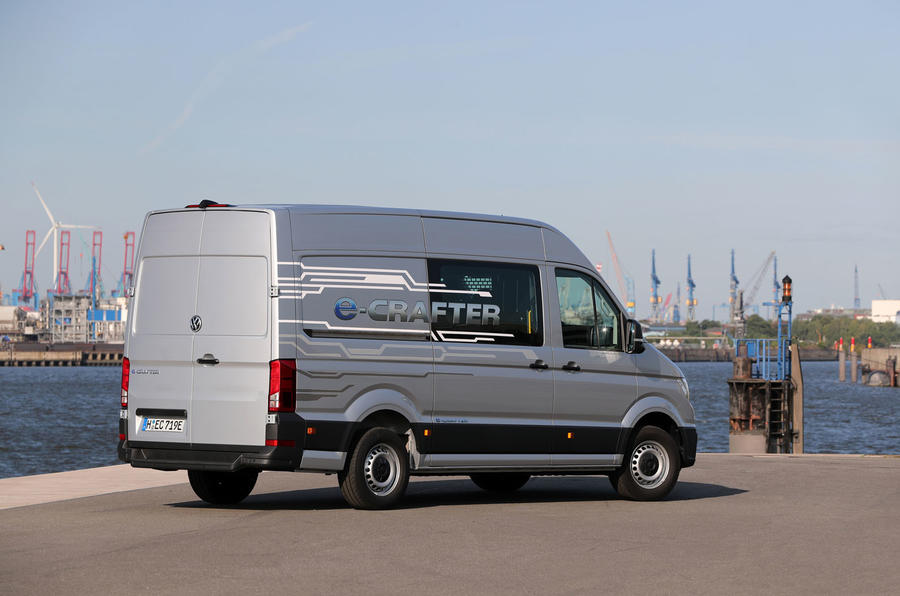 Volkswagen e-Crafter 2018 review - static rear