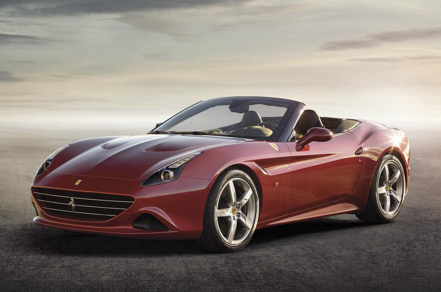 New Ferrari California T gets turbo power