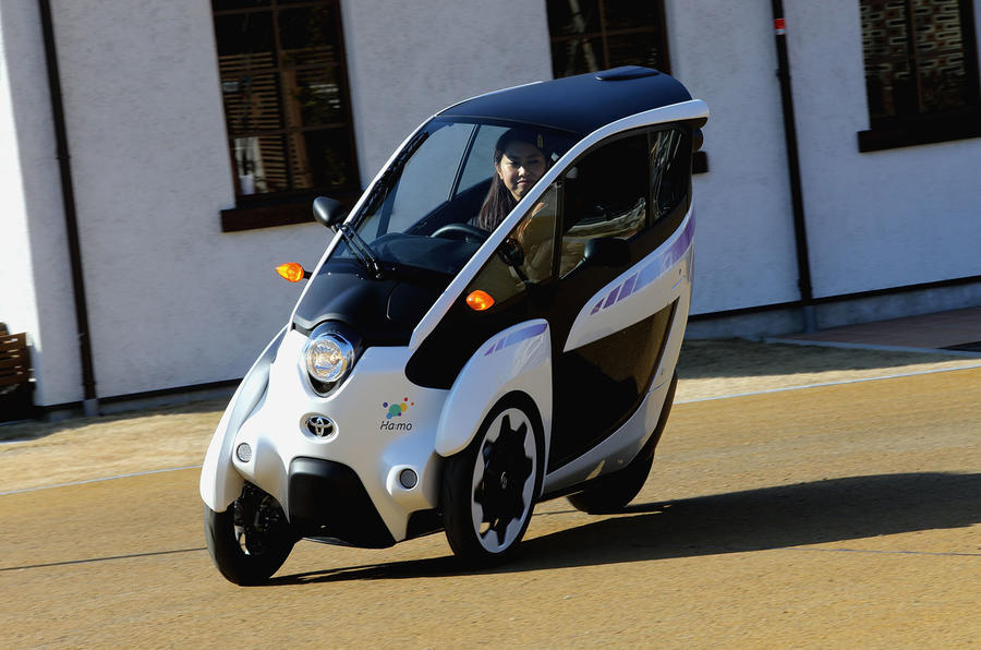 Toyota i-Road starts testing in Tokyo