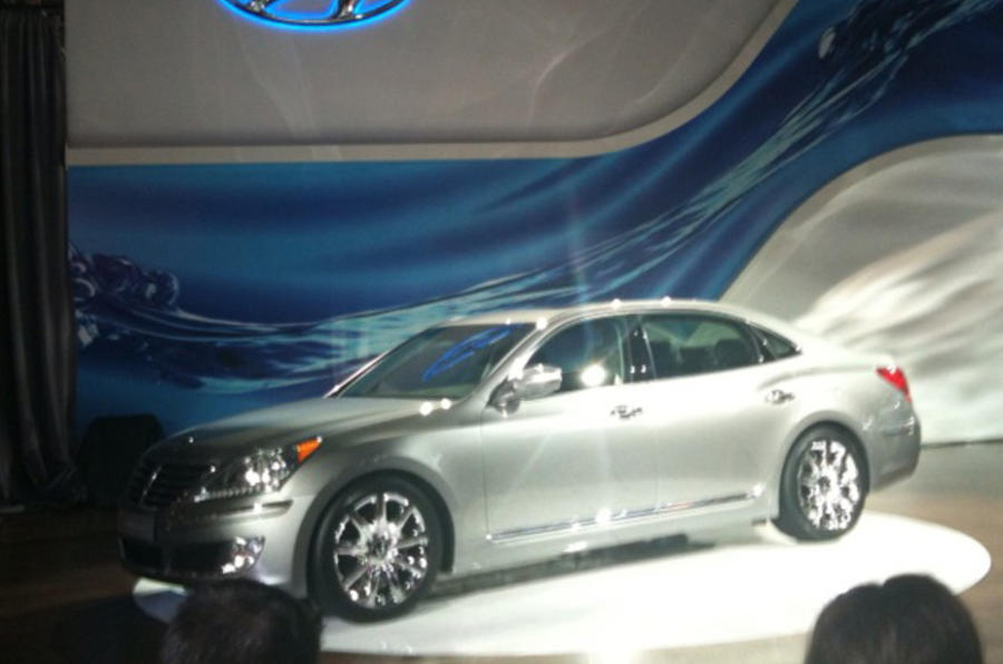 New York show: Hyundai Equus
