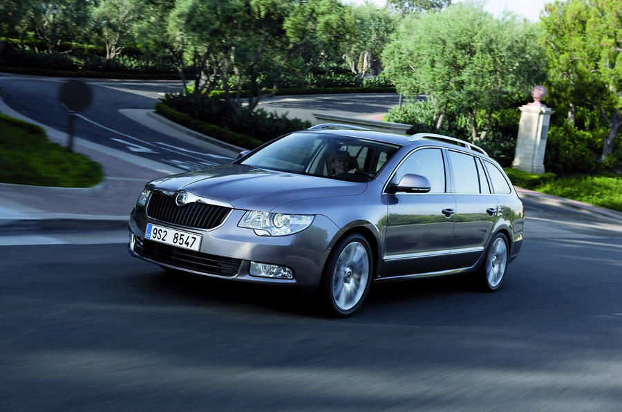 Skoda Superb estate 1.4 TSI