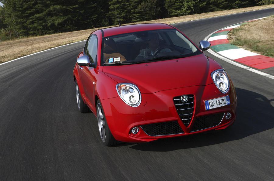 Alfa Romeo Mito front end