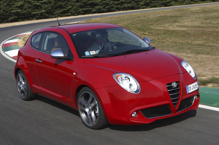 Alfa Romeo Mito front quarter