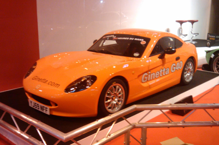 Ginetta G40 launched