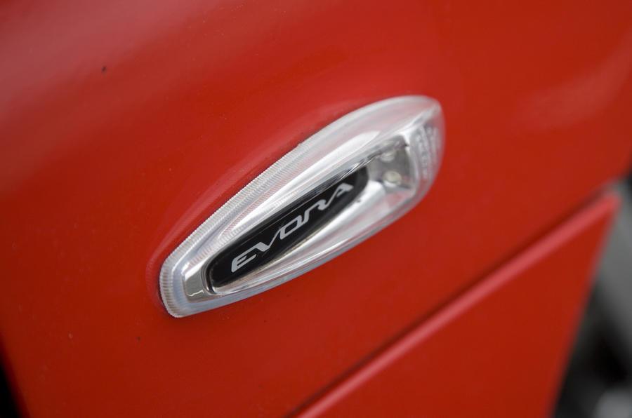 Lotus Evora 2+0 side indicator