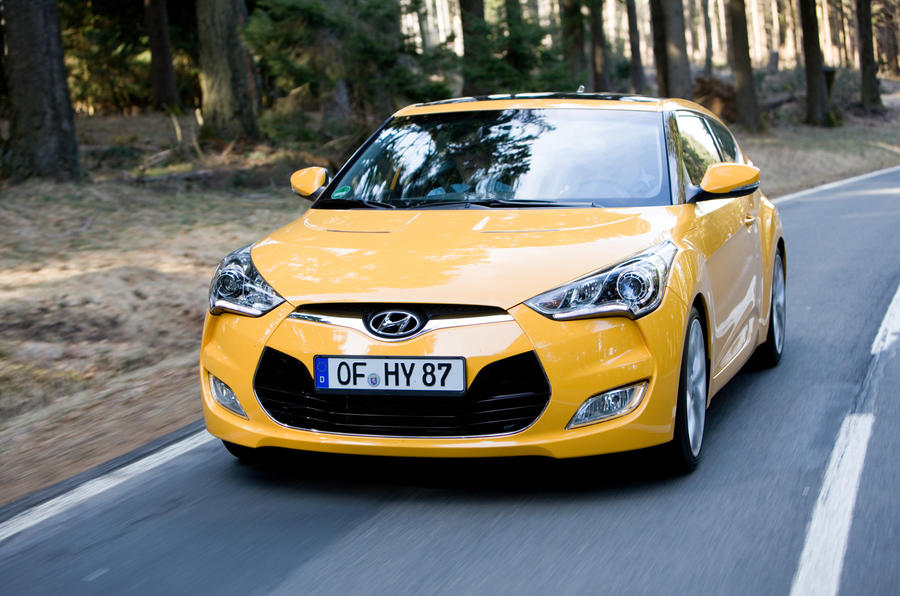 Hyundai Veloster front end