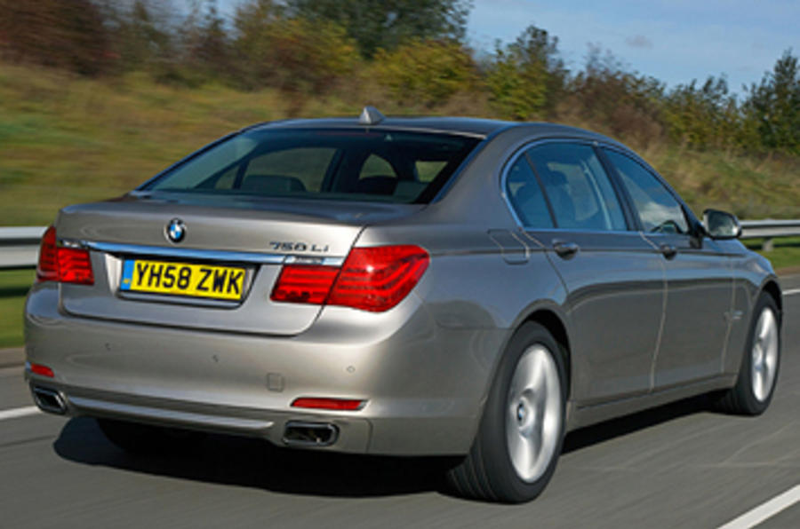 Bmw 750li 4 4 V8 First Uk Drive