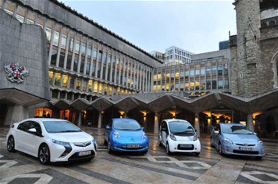 UK's £5k EV grant goes live