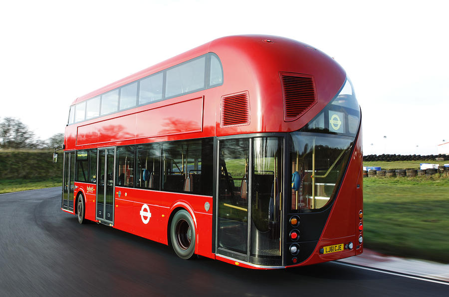 New Bus for London driven