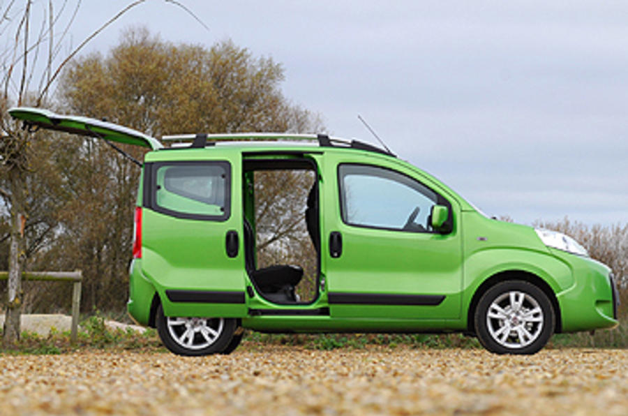 fiat qubo 1 4 8v dynamic review autocar. Black Bedroom Furniture Sets. Home Design Ideas