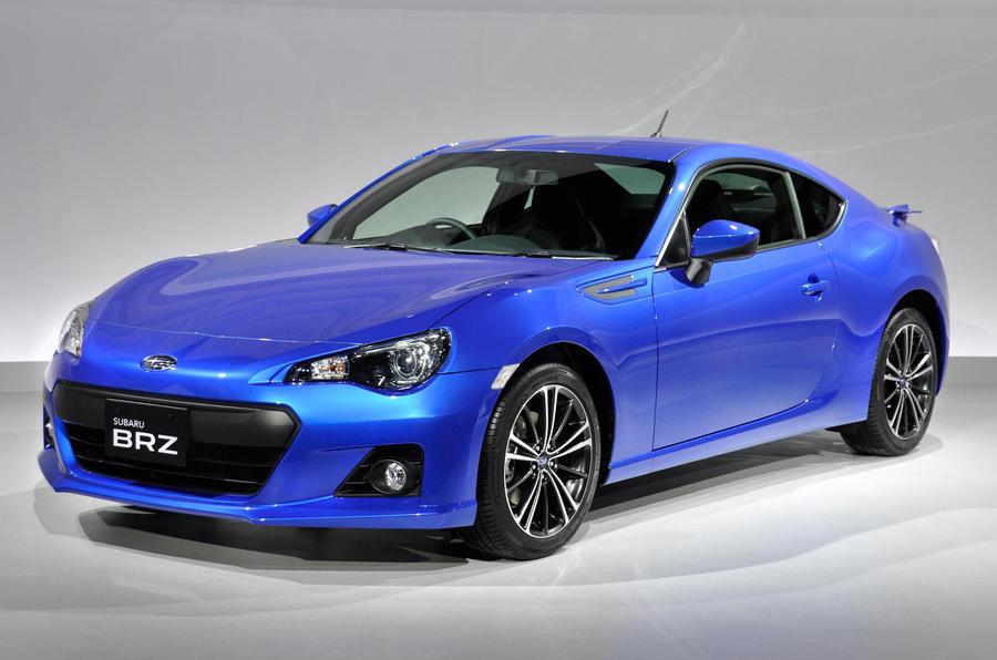 Geneva show 2012: Subaru BRZ