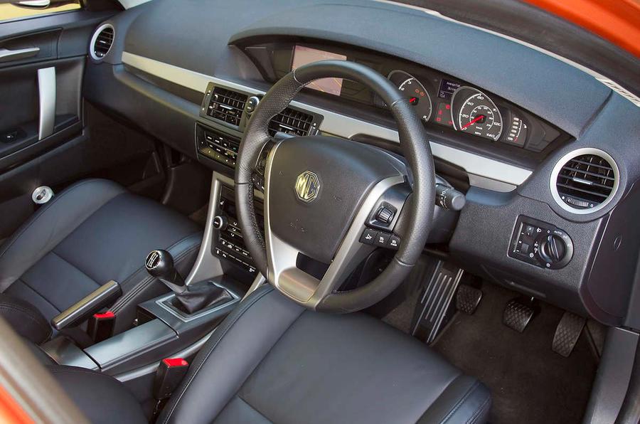 MG 6 interior