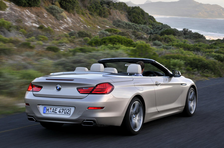 BMW 640i Convertible rear