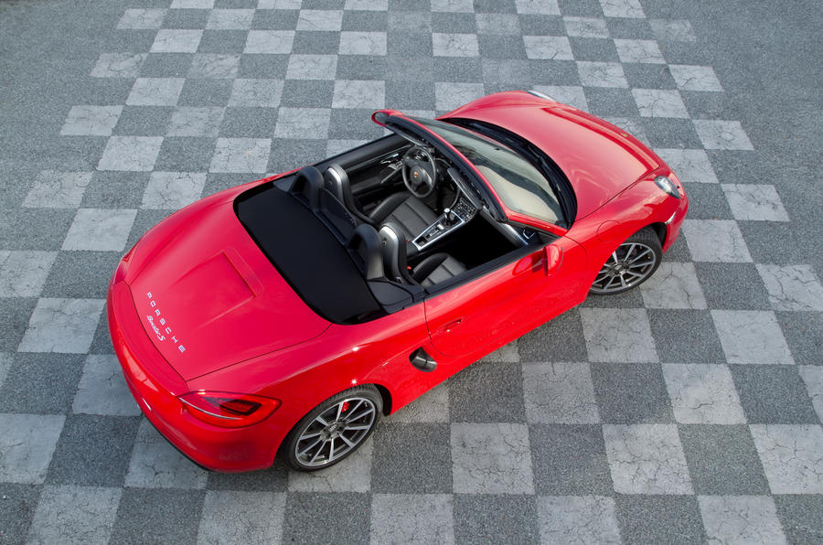 Porsche Boxster 2.7 roof up