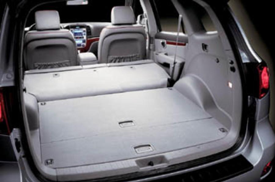 hyundai santa fe 2 2 cdx review autocar. Black Bedroom Furniture Sets. Home Design Ideas