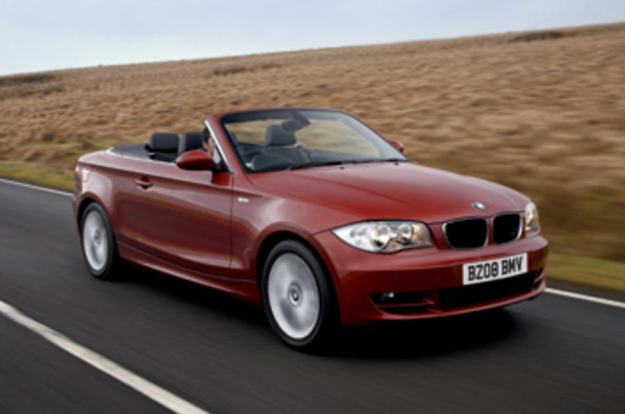 bmw 120i convertible review autocar. Black Bedroom Furniture Sets. Home Design Ideas