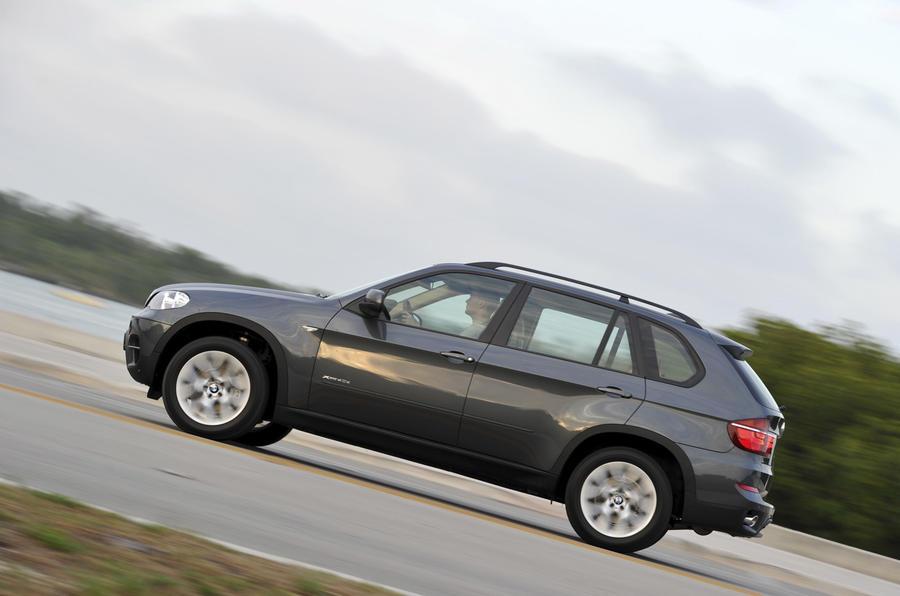 BMW X5 side profile