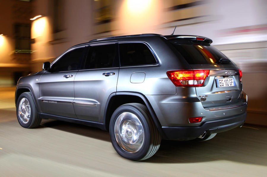 Jeep Grand Cherokee 3.0d V6 in town