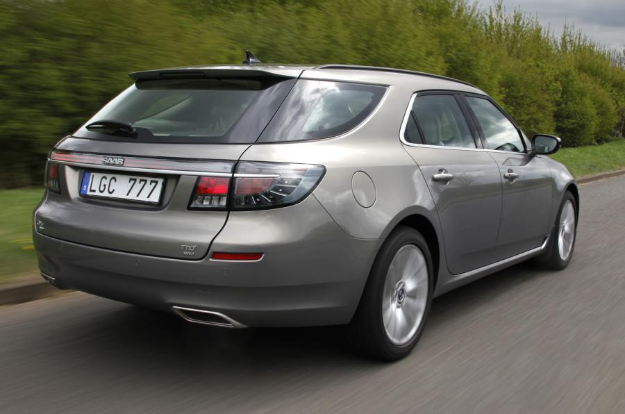 Saab 9-5 Sportwagon rear