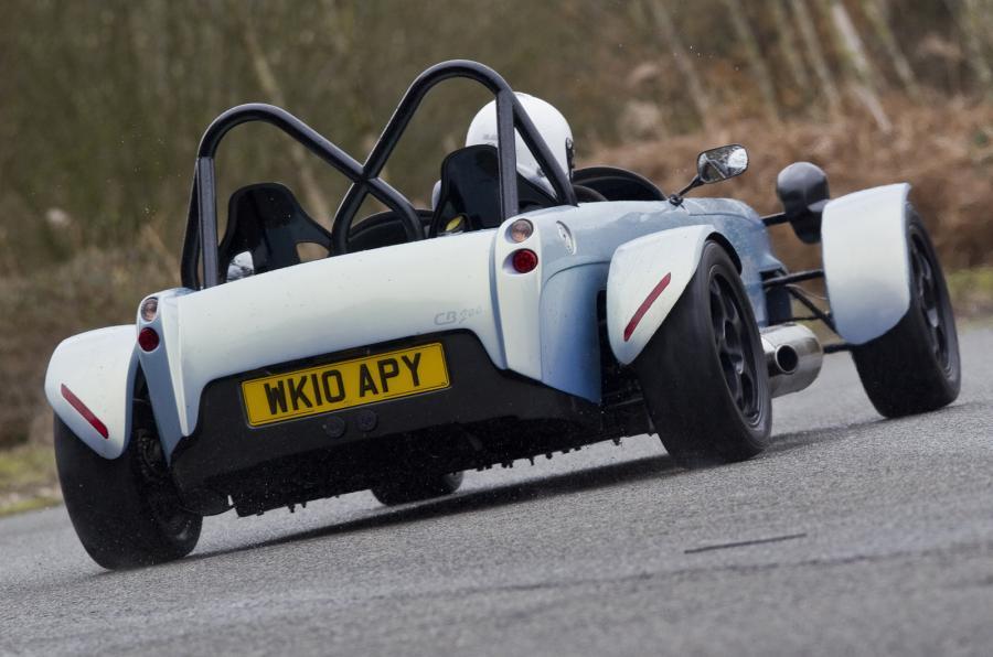 Toniq CB200 rear cornering