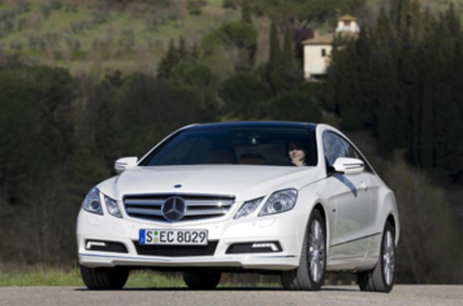 Mercedes E-class E350 CGI coupe