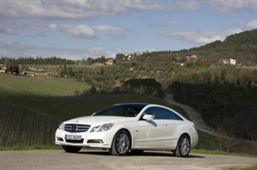 Mercedes E350 CDI Coupe SE