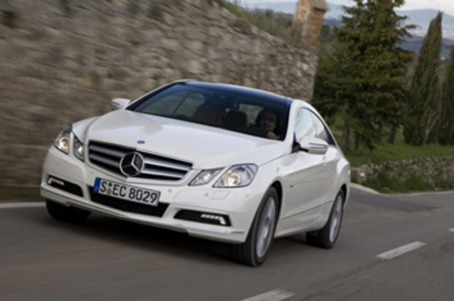 mercedes e350 cdi coupe se review autocar. Black Bedroom Furniture Sets. Home Design Ideas