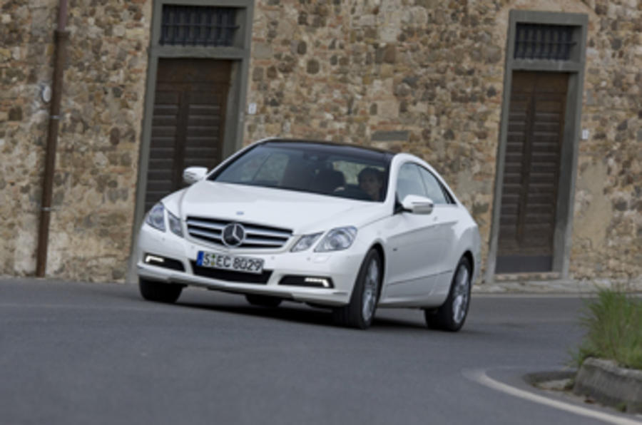 Mercedes-Benz E350 CGI coupe