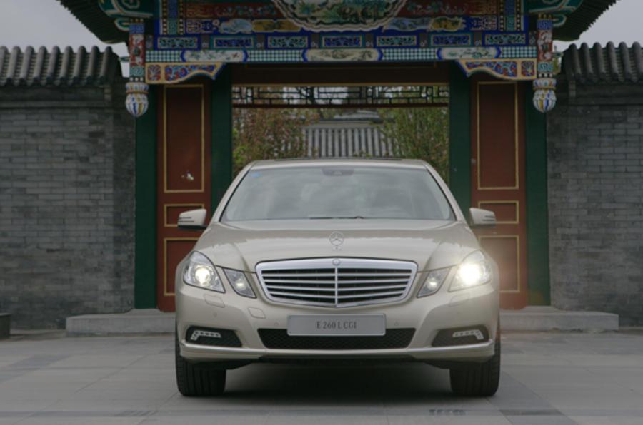 Mercedes-Benz E-Class LWB front end