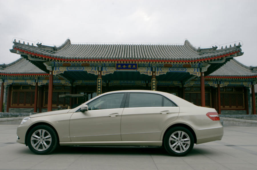 Mercedes-Benz E-Class LWB side profile