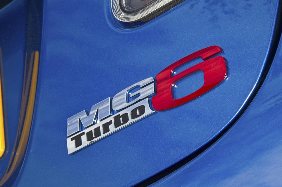 MG6 Magnette TSE badging