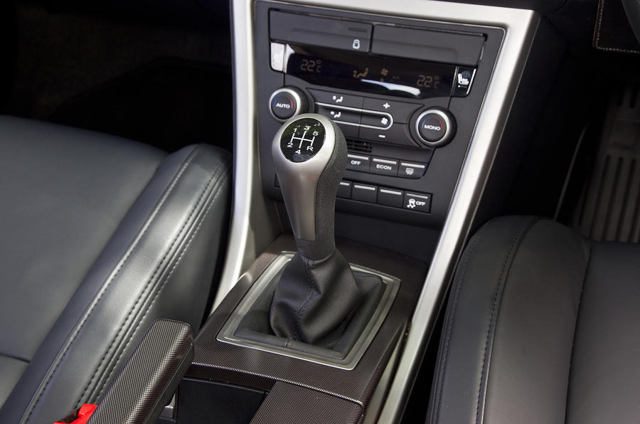 MG6 Magnette TSE manual gearbox