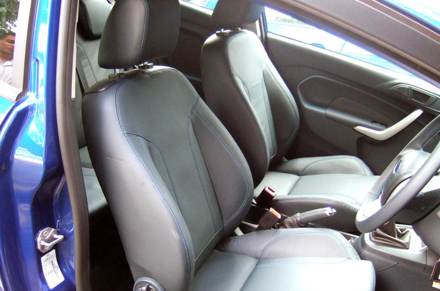 Ford Fiesta S 1600 front seats